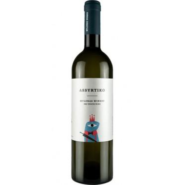 Vin blanc sec Assyrtiko