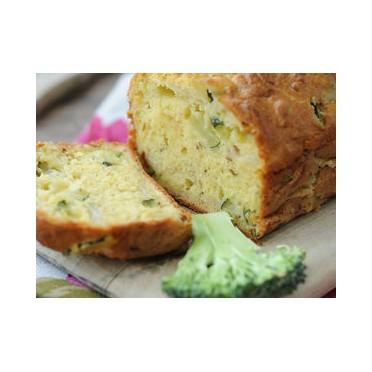 Recette du cake aux brocolis et aux anchois