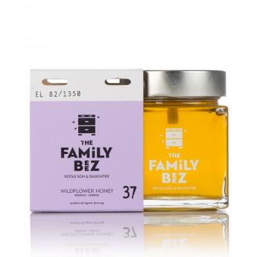 Miel de fleurs sauvages Bio 250g Family Beez