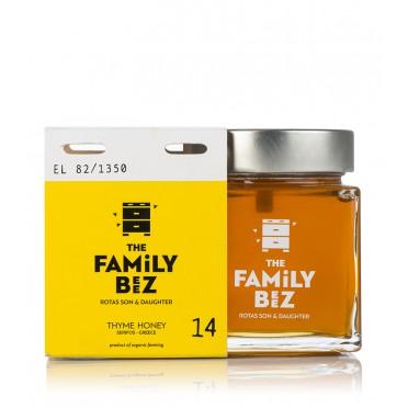 Miel thym BIO 250g Family Beez