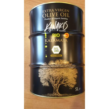 Huile d'olive BIO Kanakis 5l