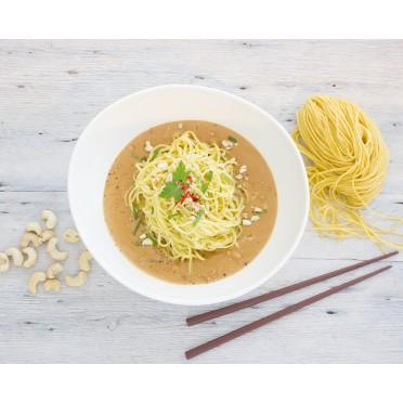 Recette des spaghettis sauce tahini