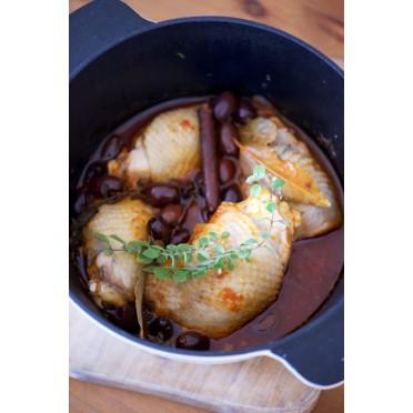 Recette de poulet aux olives de kalamata