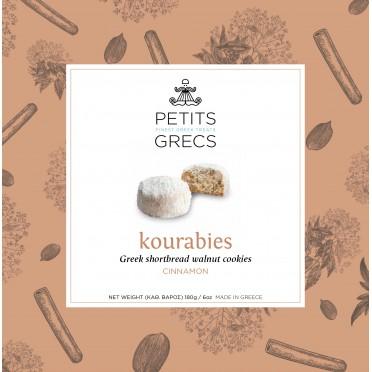 Kourabiedes noix de pécan et cannelle