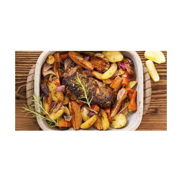 Gratin d'aubergines aux Kritharaki - source www.chili-und-ciabatta.de