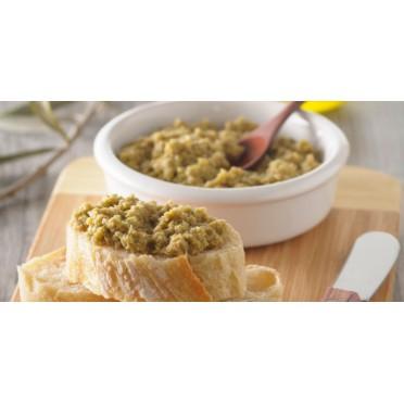 Recette de tartinade d'olive verte