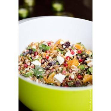 Recette de salade de Petit Epeautre cahier de gourmandises