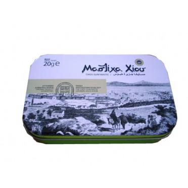 Mastic de Chios boîte métal