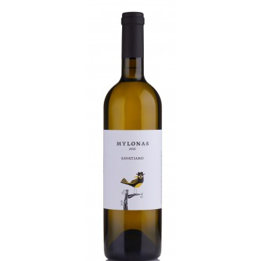Vin blanc sec Savatiano