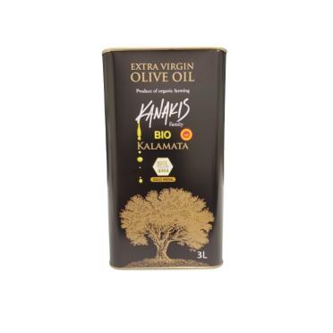 Huile d'olive BIO Kanakis 3l