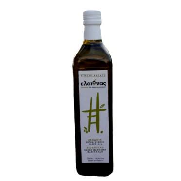 Huile d'olive Bio Eleonas de l'île d'Eubée 750ml