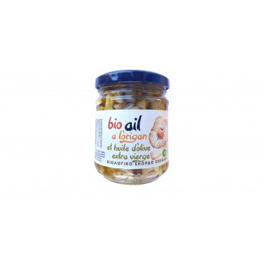 Ail à l'huile d'olive et origan 120g