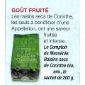Raisins secs de Corinthe BIO 2