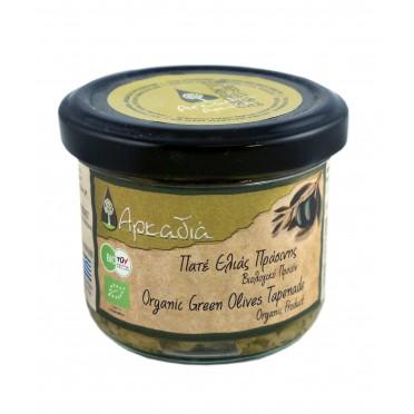 Pâtes d'olives vertes Chalkidiki BIO 100g
