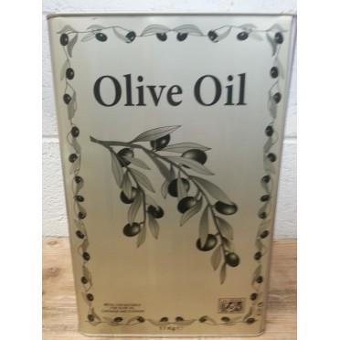 Huile d'olive 16 litres Garidis non filtrée