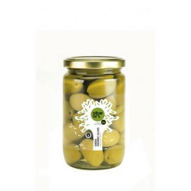 olives vertes saumure 200g Bio Olive Art