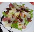Salade de jambon de Parme et figues séchées au vinaigne balsamique - source : LMDC 0