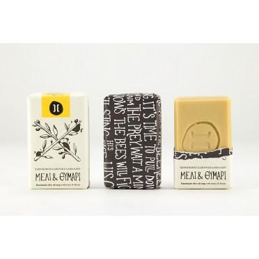 Savon naturel à l'huile d'olive Bio au miel et au thym