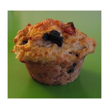 Recette des muffins aux olives de Kalamata