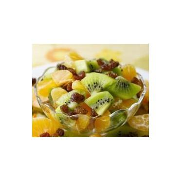 Recette de la salade de kiwis, clémentines et raisins secs -Source : cuisineaz.com