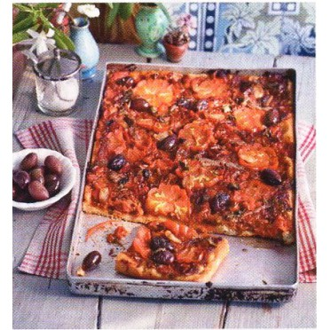 Recette de la pizza aux anchois et tomates séchées