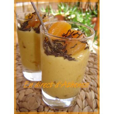 Crème de tahini, orange et abricots secs
