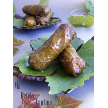 Recette des feuilles de vignes farcies