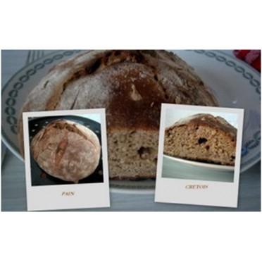 Recette du pain Crétois
